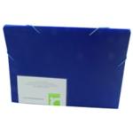 Q-Connect Expanding File 13-Pocket Blue
