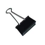 Q-Connect 19mm Black Foldback Clip Pk10