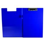 Q-Connect PVC Fold ClipboardFs Blu