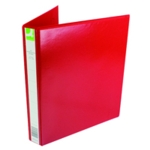 Q-Connect 25mm Pr 4D Ring Binder A4 Red