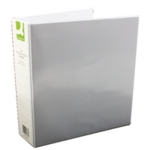 Q-Connect 50mm Pr 4D Ring Binder A4 Whte