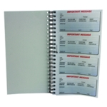 Q-Connect 400 Msg Telephone Message Book