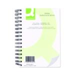 Q-Connect Wiro Duplicate Book 210x127mm