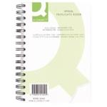 Q-Connect Wiro Triplicate Book 210x127mm