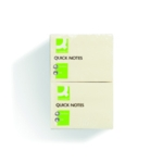 Q-Connect Yellow 76x102 Quick Notes Pk12