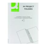 Q-Connect Project Folder A4 Blue Pk25