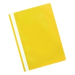 Q-Connect Project Folder A4 Yellow Pk25