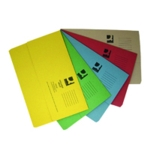 Q-Connect Document Wallet Fs Asstd Pk50
