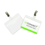 Q-Connect Visitor Badge 60x90mm Pk25