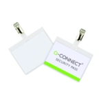 Q-Connect Security Badge 60x90mm Pk25
