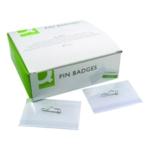 Q-Connect Pin Badge 54x90mm Pk50