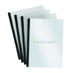 Q-Connect A4 Black 5mm Slide Binder Set