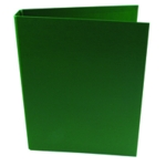 Q-Connect 25mm 2 Ring Binder A4 Grn Pk10