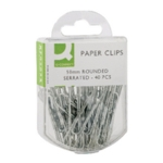 Q-Connect 50mm Serrated Paperclip Pk400