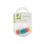 Q-Connect 24mm Assorted Magnet Pk60