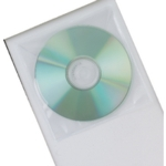 Q-Connect CD/DVD Poly Disk Envelope Pk50