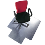 Q-Connect PVC 1143x1346mm Chairmat Clear