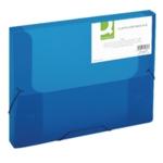 Q-Connect Elastic 25mm Folder A4 Blue