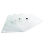 Q-Connect Document Folder A5 Clear Pk12