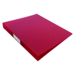Q-Connect 2 Ring Binder Frosted A4 Red