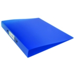 Q-Connect 2 Ring Binder Frosted A4 Blue