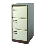 Jemini 3D Filing Cabinet Co Cream