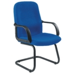 Jemini Loxley Visitors Chair Blue