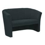 FF Arista Charcoal Fabric 2 Seat Tub