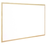 Q-Connect 600x400mm Whiteboard Wood F