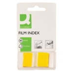 Q-Connect Yellow 1 inch Page Marker Pk50