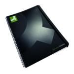 Q-Connect Wirebound Notebook A4 Pk3