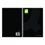 Q-Connect Wirebound Notebook A5 Blk Pk3