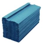 2Work 1 Ply Hand Towel Blue Pk2880