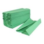 2Work 1 Ply Hand Towel Green Pk2880