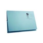 Q-Connect  Long Flap Wallet Fs Blue Pk50