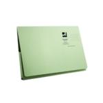 Q-Connect Long Flap Wallet Fs Green Pk50