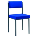 FF Jemini Stacking Chair Royal Blue