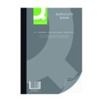 Q-Connect Feint Ruled Duplicate Book A4