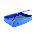 Q-Connect PolyBox File Foolscap Blue