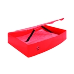Q-Connect PolyBox File Foolscap Red