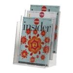 Q-Connect Literature Holder Three Pocket