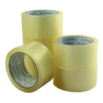 Q-Connect Low Noise Clear Tape 50mm Pk6