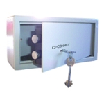 Q-Connect Key Operated Safe 6L