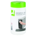 Q-Connect General Use Wipes Pk100