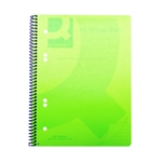Q-Connect PP Spiral Pad A5 Green Pk5