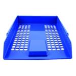 Q-Connect Blue Plastic Letter Tray