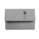 Q-Connect Document Wallet Fs Grey Pk50