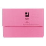 Q-Connect Document Wallet Fs Pink Pk50