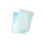 Q-Connect Cut Flush Folder A4 Clear P100
