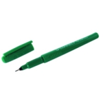 Q-Connect 0.4mm Green Fineliner Pen Pk10